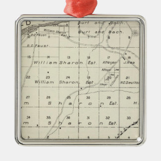 Madera County, California 5 Christmas Ornament