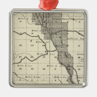 Madera County, California 6 Christmas Ornament