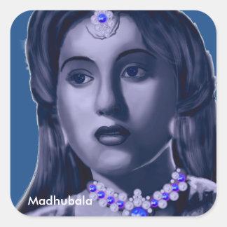 Madhubala Square Sticker