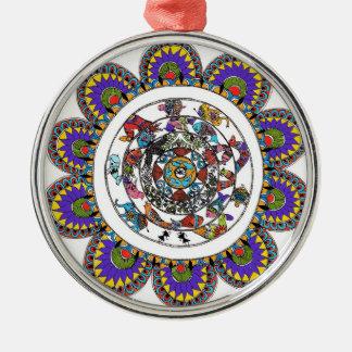 Madhubani Mandala ornaments