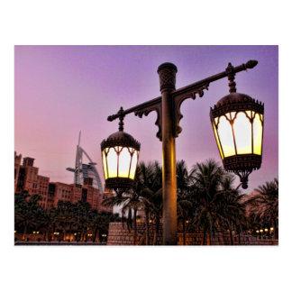 Madinat Jumaira at Sunset Burj Al Arab Postcard