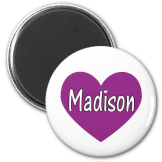 Madison 6 Cm Round Magnet