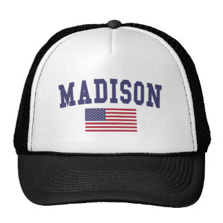 Madison AL US Flag Cap