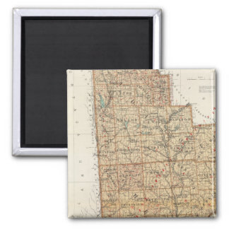 Madison, Chenango, Broome counties Fridge Magnets