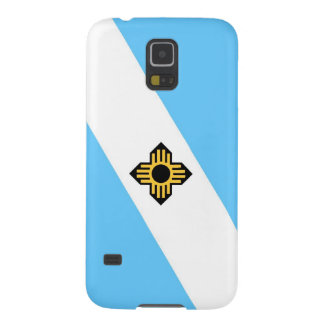 Madison city flag  Wisconsin state America country Galaxy S5 Cases
