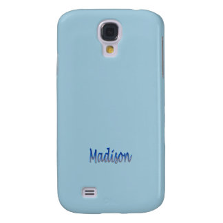 Madison Customized Samsung Galaxy cover Galaxy S4 Cover