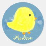Madison Cute Baby Chick Sticker