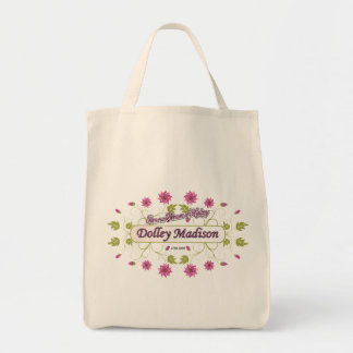 Madison ~ Dolley Madison / Famous USA Women Grocery Tote Bag