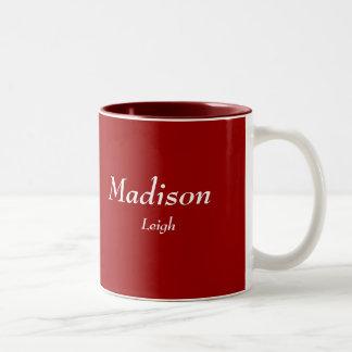Madison, Leigh Two-Tone Mug