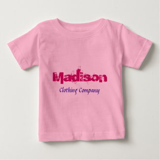 Madison Name Clothing Company Baby Shirts