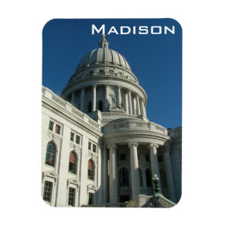 Madison Rectangle Magnet