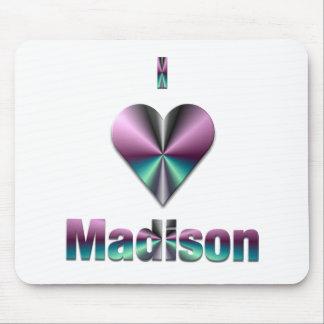 Madison -- Purple & Turquoise Mouse Pad