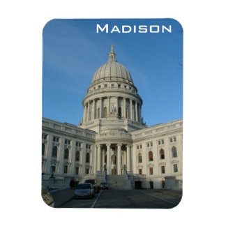 Madison Rectangular Photo Magnet