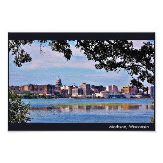Madison Skyline Photo Print