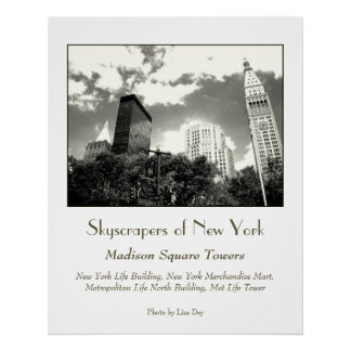 'Madison Square Towers' Poster