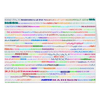 Madison Text Design II Horizontal Greeting Card