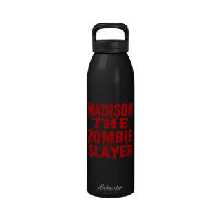 Madison The Zombie Slayer Drinking Bottle