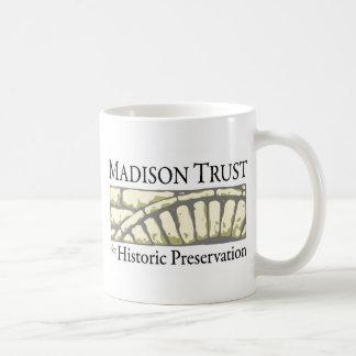 Madison Trust for Historic Preservation Basic White Mug