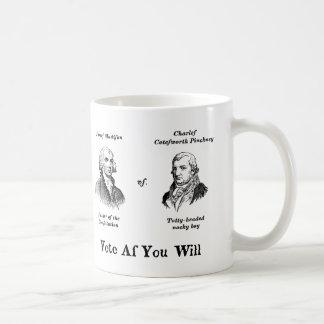 Madison vs. Pinckney Mugs