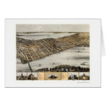 Madison, WI Panoramic Map - 1867 Card