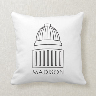 Madison Wisconsin Capitol Building Cushion