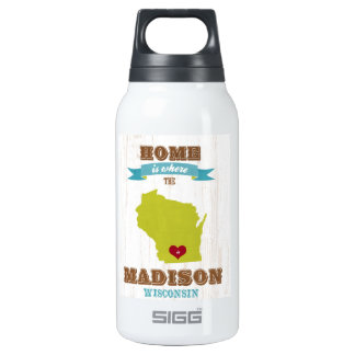 Madison, Wisconsin Map – Home Is Where The Heart
