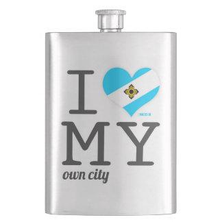 Madison   Wisconsin Hip Flasks