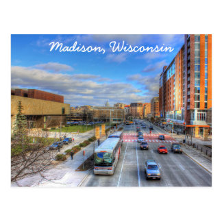 Madison Wisconsin Postcard