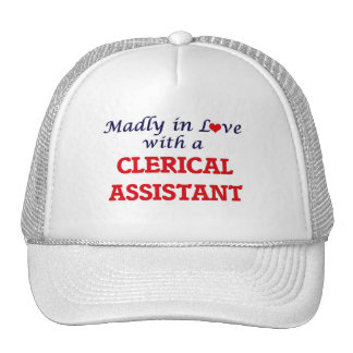 Madly in love with a Clerical Assistant Cap