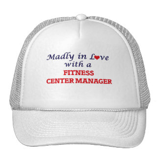 Madly in love with a Fitness Center Manager Cap