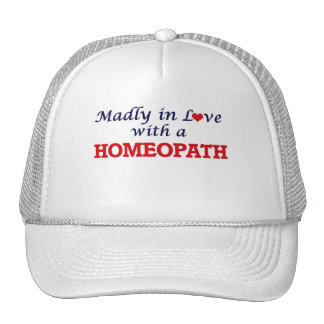 Madly in love with a Homeopath Cap