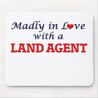 Madly in love with a Land Agent Mouse Pad