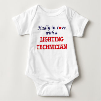Madly in love with a Lighting Technician Infant Creeper