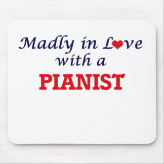 Madly in love with a Pianist Mouse Pad