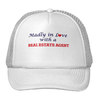 Madly in love with a Real Estate Agent Cap