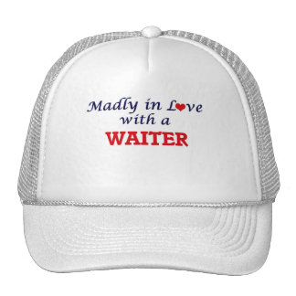 Madly in love with a Waiter Cap