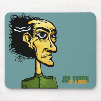 MadMan-color-shirt Jon Griffin Art Design Mouse Mat