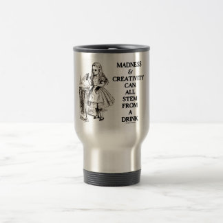 Madness & Creativity Can All Stem From A Drink Coffee Mugs