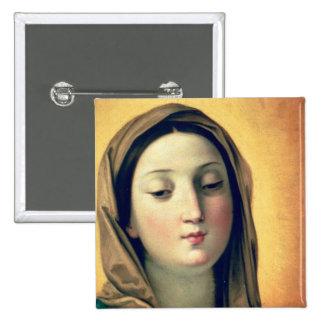 Madonna 15 Cm Square Badge