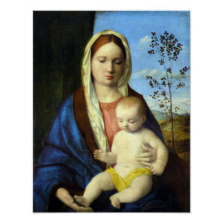 Madonna 3 by Bellini Print