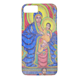 Madonna and Baby Jesus Ethiopian Art iPhone 7 case