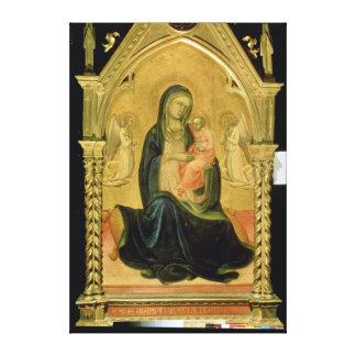 Madonna and Child, 1400 Canvas Print