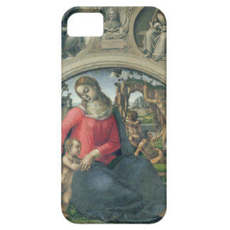 Madonna and Child, 1490-95 (oil on panel) iPhone 5 Cover
