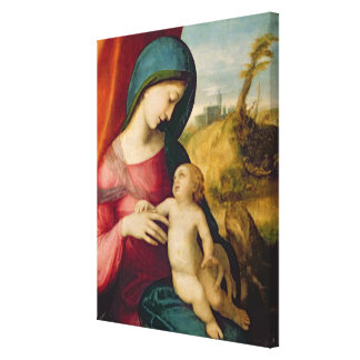 Madonna and Child, 1512-14 Stretched Canvas Prints