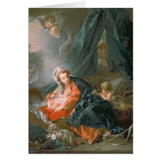 Madonna and Child, 18th century Card