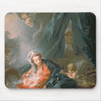 Madonna and Child, 18th century Mouse Pad