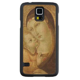 Madonna and Child 2 2 Maple Galaxy S5 Slim Case