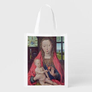 Madonna and Child 2 2 Reusable Grocery Bag