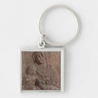 Madonna and Child 2 Key Ring