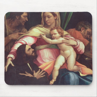Madonna and Child 3 Mouse Pad